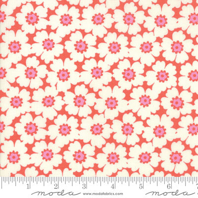 Moda Lazy Days Coral 10072 14 Yardage