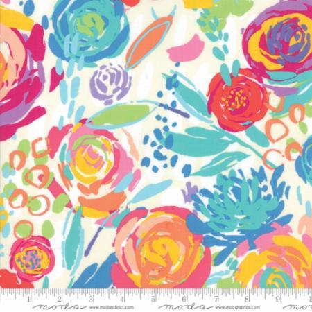 Moda Painted Garden Canvas 11810 11 Yardage