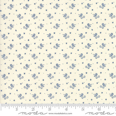 Moda Indigo Gatherings Moon 1294 11 Yardage
