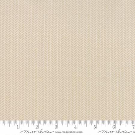 Moda Lullaby Herringbone Stone 13156 15 Yardage