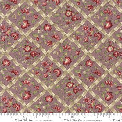 Moda Jardin de Versailles Lavender 13812 14 Yardage