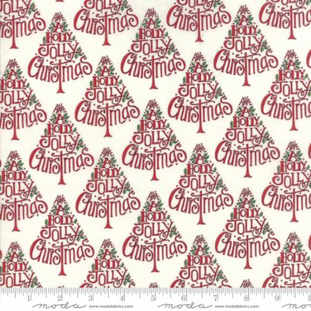 Moda Hearthside Holiday Snowy White 19831 16 Yardage