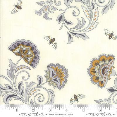 Moda Bee Joyful Laurel White 19871 15 Yardage