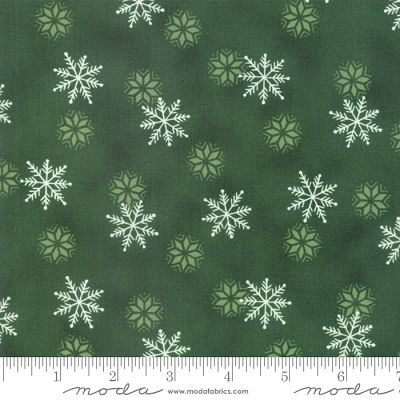 Moda Holiday Lodge Evergreen 19896 13 Yardage