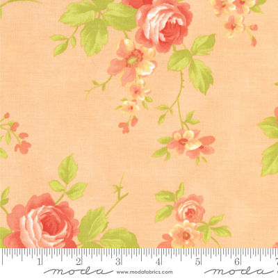 Moda Chantilly Melon 20340 12 Yardage