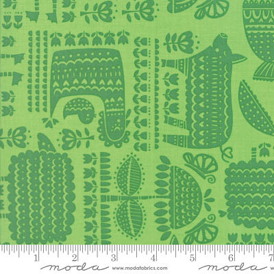 Moda Farm Fun Grass 20532 16 Yardage