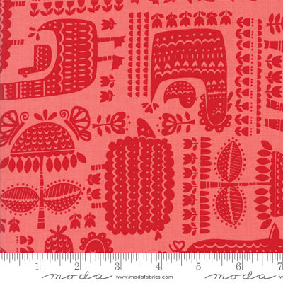 Moda Farm Fun Strawberry 20532 21 Yardage