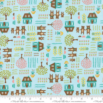 Moda Home Sweet Home Sky 20572 15 Yardage