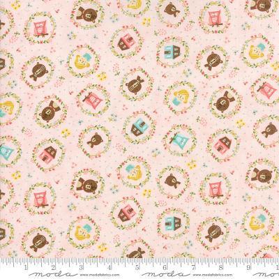 Moda Home Sweet Home Pink 20573 12 Yardage