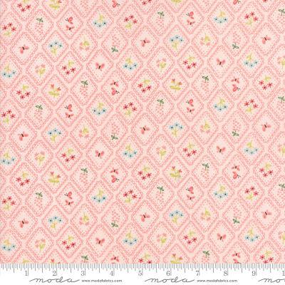 Moda Home Sweet Home Pink 20576 12 Yardage