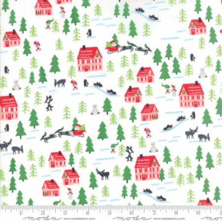 Moda The North Pole Snow 20582 11 Yardage
