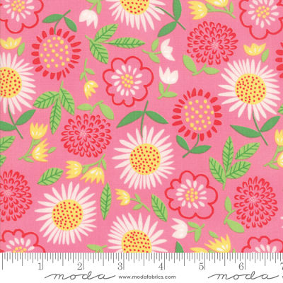 Moda Best Friends Forever Dark Pink 20622 13 Yardage