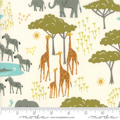 Moda Safari Life Cream 20643 11 Yardage