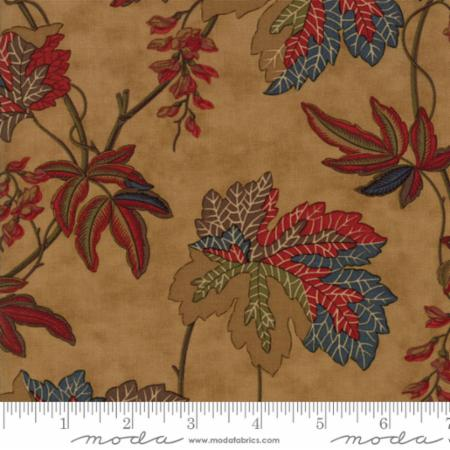 Moda Sycamore Fall Leaves Sand 2200 11 Yardage