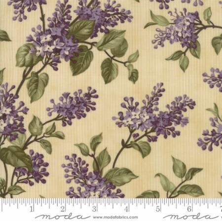 Moda Lilac Ridge Cream 2211 11 Yardage