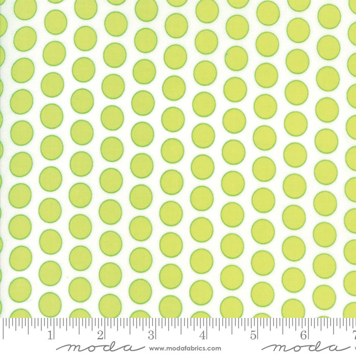 Moda Frolic Grass Green 22317 12 Yardage
