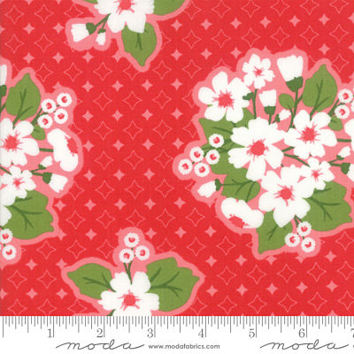 Moda All Weather Friend Apple Red 24060 11 Yardage