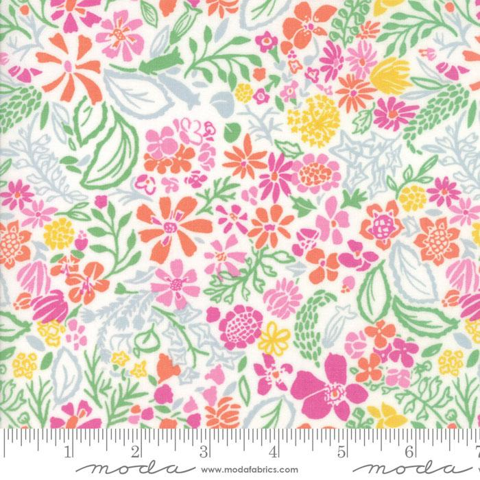 Moda Early Bird Multi Green 27264 19 Yardage