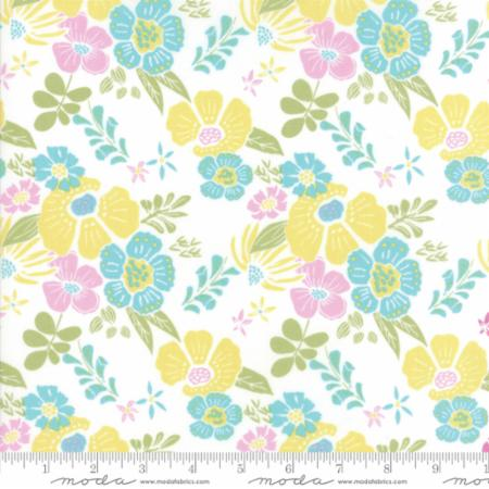 Moda Bungalow Melody Citrus 27290 32 Yardage