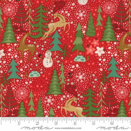 Moda Berry Merry Scarlet 30470 13 Yardage