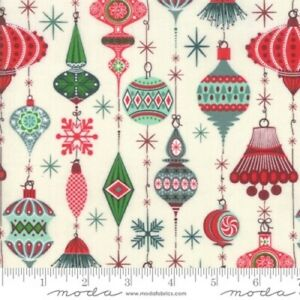 Moda Kringle Claus Snow 30591 11 Yardage