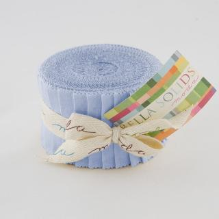 Solids Junior Jelly Roll - 30's Blue 9900 25