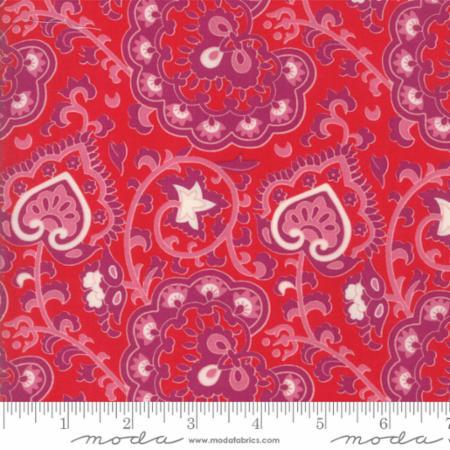 Moda Spellbound Scarlet 31111 11 Yardage