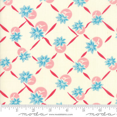 Moda Cheeky Blue Raspberry Sweet Cream 31144 11 Yardage