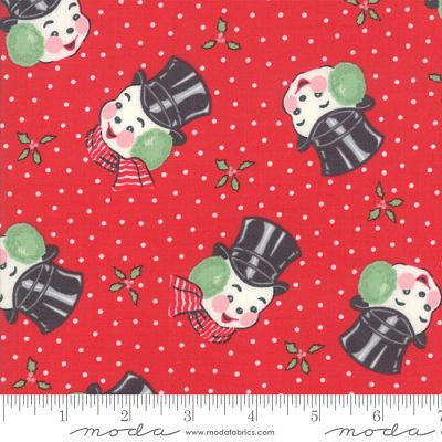 Moda Sweet Christmas Peppermint 31152 12 Yardage