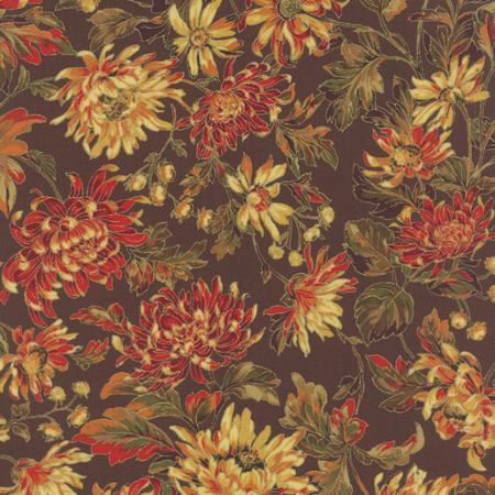 Moda Autumn Elegance Cocoa 33110 11M Yardage