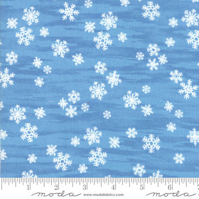 Moda Forest Frost Glitter Sky 33412 15M Yardage