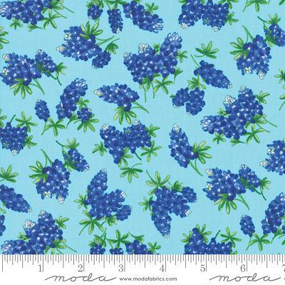 Moda Fields of Blue Aqua 33453 16 Yardage