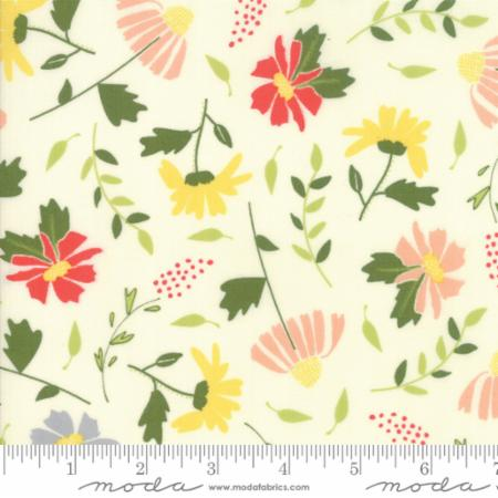Moda Clover Hollow Ivory 37550 11 Yardage