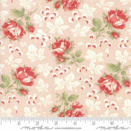 Moda Victoria Pink Ribbon 44161 11 Yardage