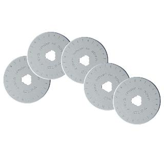 Olfa Rotary Replacement Blades 45mm 5 Blades