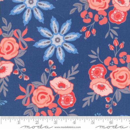 Moda Bloomsbury Dark Blue 47510 13 Yardage