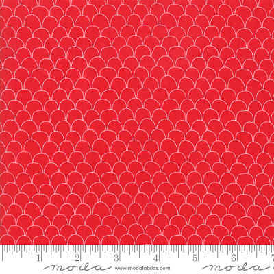 Moda Farm Fresh Rooster Red 48266 15 Yardage