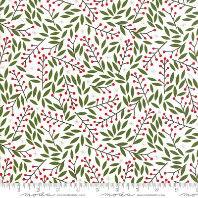 Moda Merriment Snow 48273 11 Yardage