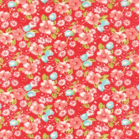 Moda Little Ruby Flannel Red 55130 11F Yardage