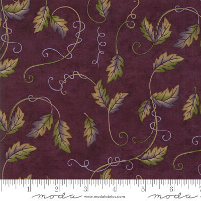 Moda Fresh Off The Vine Eggplant 6764 12 Yardage