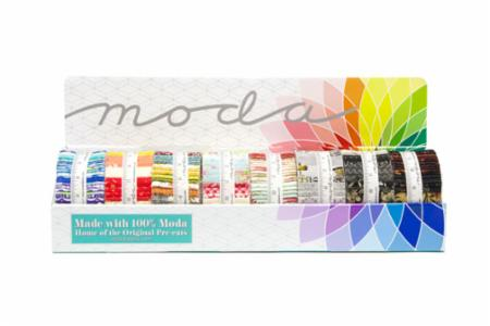 Collection Of 8 Moda Jelly Rolls