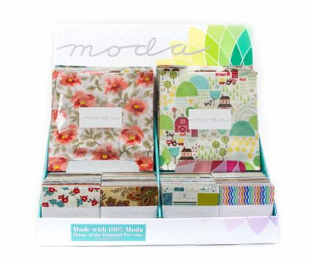 Collection Of 8 Moda Layer Cakes