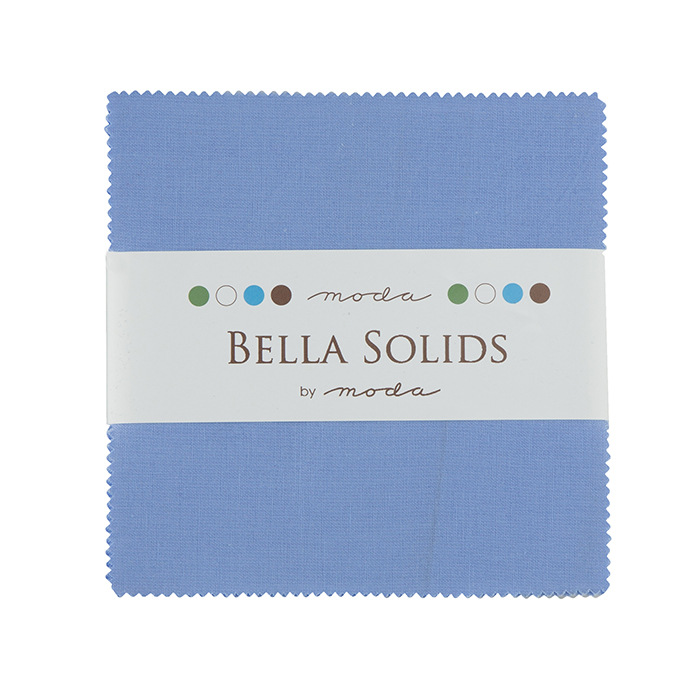 Solids Charm Pack - 30s Blue 9900 25