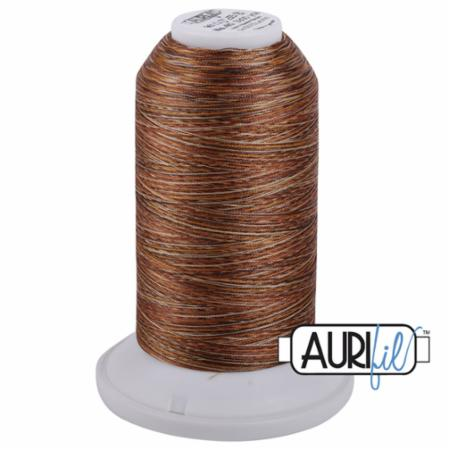 Long Arm Poly Variegated 40wt 3000m Copper Brown AMPK3 5510