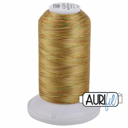 Long Arm Poly Variegated 40wt 3000m Golden Glow AMPK3 5511