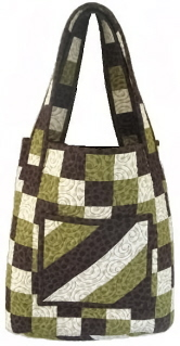 Checkered Tote Quilted Bag Pattern