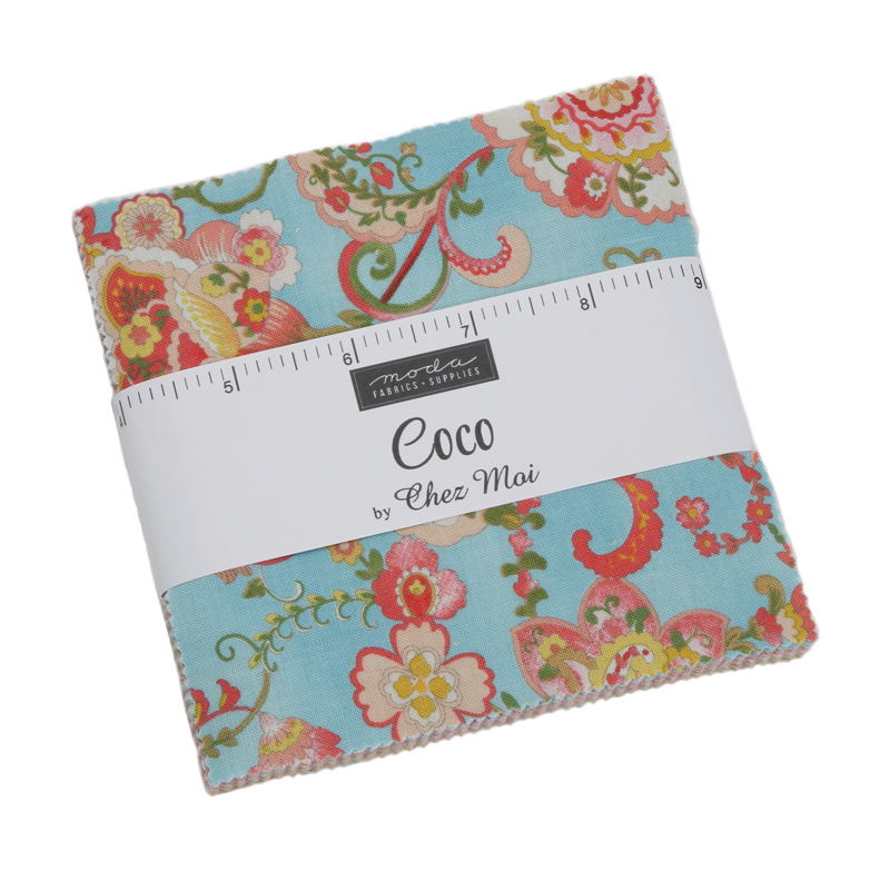 Moda Charm Pack - Coco by Chez Moi