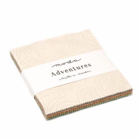Moda Charm Pack - Adventures by Amy Ellis