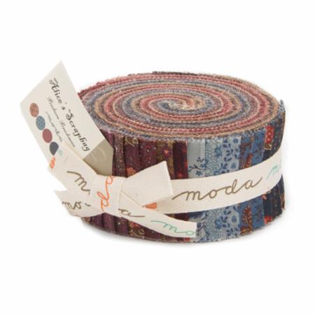 Moda Jelly Roll - Alice's Scrapbag by Barbara Brackman