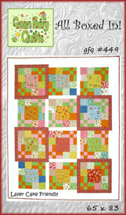 All Boxed In! Quilt Pattern